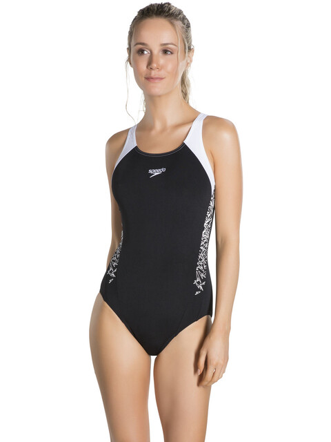 speedo Boom Splice Swimsuit Women black